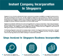Instant Company Incorporation  in Singapore